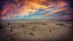 My Surreal Photographs From Burning Man 2014 | Bored Panda