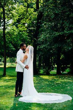 Pronovias Dress Veil Bride Bridal Stylish Country House Rave Wedding http://www.mariannechua.com/ #dress #gown #wedding #bride #bridal #train #veil #pronovias