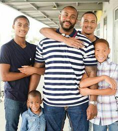 Posts about Black Fatherhood written by Black Fathers, Fathers Love, Father And Son, Mother And Child, My Black Is Beautiful, Beautiful Family, Black Love, Black Men, Beautiful Children