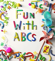 12 Fun Alphabet Activities | Learning the alphabet is a blast with these crafts, activities, and toys. | via Parents.com