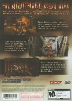 Silent Hill, Origins, Lonely, Survival, The Originals, Feeling Alone