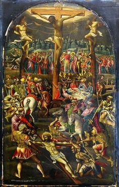 Μαρκαζίνης Γεώργιος-Η Σταύρωση, μέσα 17ου αιώνα