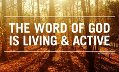 The Word Of God Is Living religious