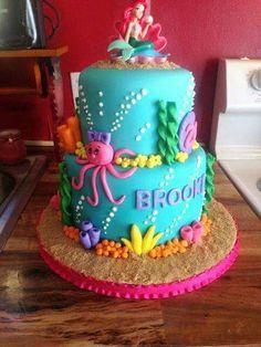 Little Mermaid Cake...