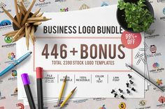 446 Business Logo Bundle – 2390 Logos