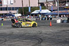 Ford car on SEMA 2012 track