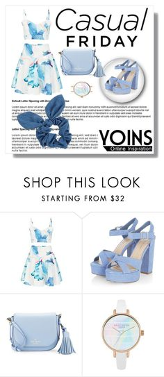 """yoins"" by merima-g98 ❤ liked on Polyvore featuring Kate Spade and Dorothy Perkins"