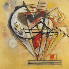 Su punte - 1928 - Kandinsky Vassili - Opere d'Arte su Tela - Listino prodotti - Digitalpix - Canvas - Art - Artist - Painting