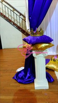 Deshaune T's Baby Shower / Royalty - Photo Gallery at Catch My Party Shower Party, Baby Shower Parties, Baby Shower Themes, Baby Boy Shower, Shower Ideas, Little Prince Party, Baby Prince, Royal Prince, Royal King
