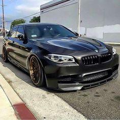 BMW F10 5 series black