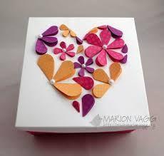 Afbeeldingsresultaat voor knutselen moederdag hart