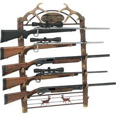 5-Gun Wall Racks at Cabela's