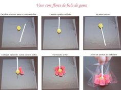 ESPAÇO EDUCAR: Como fazer flor de jujuba?