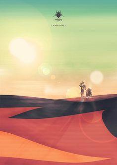 Cool poster by Nuno de Azevedo.