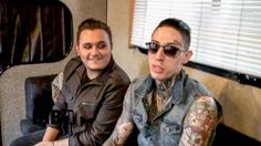 Trace Cyrus and Mason Musso, from the pop rock band, Metro Station, talks about their crazy tour story, while on The Outsiders Tour. Pop Rock Bands, Metro Station, Pop Rocks, Lineup, Mens Sunglasses, Tours, Trace Cyrus, Youtube, Videos