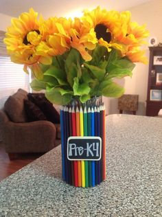 Vase for pre-k classroom!   # Pinterest++ for iPad #