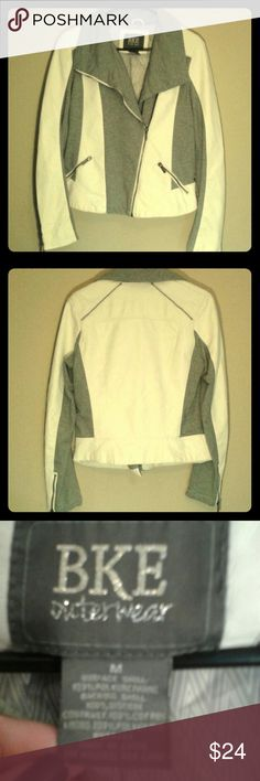 BKE distressed jacket Only worn a couple times. From the Buckle. BKE Jackets & Coats