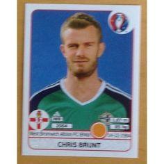 Football Soccer Sticker Panini UEFA Euro 2016 #338 N. Ireland