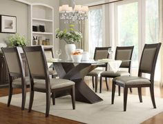Dining Room, High Top Dining Tables Do You Know The Kinds Of The Types Of Dining Tables And The Black And Grey Color Of The Chairs And White Vase With Beauutiful Flowers And Pendant Lamp With Luxurious Cream Wall ~ The Types of Dining Tables That You Should Know