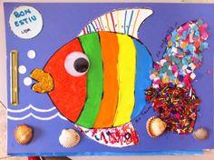 Tapa d'àlbum cedida per Rebeca Nikita Games For Kids, Diy For Kids, Crafts For Kids, Arts And Crafts, Tapas, Sea Crafts, Kids Hands, Summer Crafts, Creative Kids