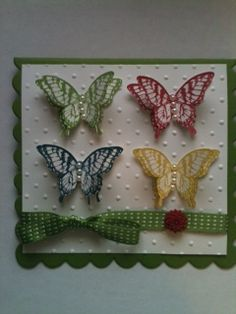Stampin Up! Papillon Potpourri and new Incolors