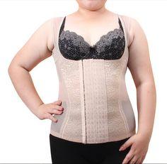 Plus Size Corsets And Bustiers Women Slimming Bodyshaper Top Vest Chest Binder…