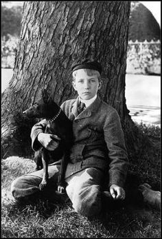 young dwight eisenhower and his dog - Google Search