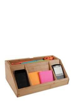 Natural Desk Organizer