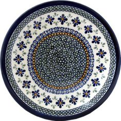 """Boleslawiec Polish Pottery Dinner Plate DU60 by Zaklady Ceramiczne """"Boleslawiec"""". Save 19 Off!. $33.00. Use: Polish Pottery is oven- dishwasher- stove- and microwave oven safe, lead and cadmium free, resistant to chip.. Dimensions: Diameter: 10.70"""". Each piece of Polish Stoneware is handmade and hand-painted.. Origin: Boleslawiec, Poland. The beautiful Polish Pottery Dinner Plate, in the Unikat Signature Patterns, will be an excellent addition to your dinner table. It will also look be..."""