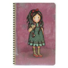 Τετράδιο Santoro gorjuss Pulling on your Heart strings Santoro London, 3d Cards, School Supplies, Stationery, Gifts, Heart, School Stuff, Presents, Paper Mill