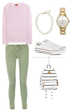 """""""#49"""" by mallardi ❤ liked on Polyvore featuring Missoni, Current/Elliott, J.Crew, Kate Spade, Converse and Forever 21"""