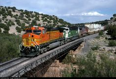 RailPictures.Net Photo: BNSF 4011 BNSF Railway GE C44-9W (Dash 9-44CW) at Scholle, New Mexico by Joe Blackwell