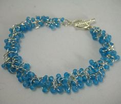 Light blue chain maille