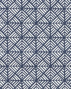 We love this tight graphic, inspired by a traditional Japanese block print – it's a pattern that makes a statement wherever it goes. We've showcased it on wallpaper, pillow covers and apparel with fabulous results. Now it's your turn.