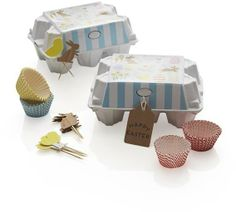 Crate & Barrel Easter Mini Cupcake Kit on shopstyle.com