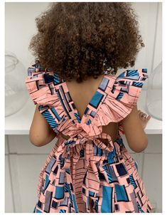 Ankara Styles For Kids, African Dresses For Kids, Latest African Fashion Dresses, African Print Dresses, Dresses Kids Girl, Little Girl Outfits, African Print Fashion, Mother Daughter Fashion, Kids Dress Wear