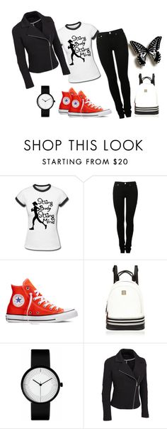 """25"" by vicinogiovanna ❤ liked on Polyvore featuring MM6 Maison Margiela, Converse, River Island and plus size clothing"