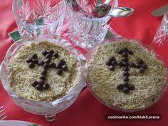 Posna Predjela, Serbian Recipes, No Bake Cake, Baking Recipes, Delicious Desserts, Oatmeal, Christmas Decorations, Belgrade, Cooking