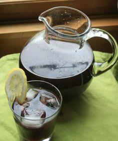 Blackberry lavender iced tea recipe