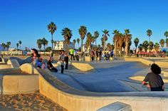 There's more to L.A thank just Hollywood - Best LA Travel Tips here  Photo: Venice Beach, CA