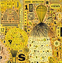 Colin Johnson (bis) Yellow Sun, Black N Yellow, Black And White, Color Yellow, Colour, American Illustration, Collage Illustration, Communication Art, Publication Design
