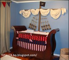 Pirate theme for baby boy...I would definitely consider this.