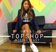 i love the adidas collabo. Topshop Middle East, DUBAI.
