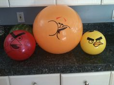 angry birds balls