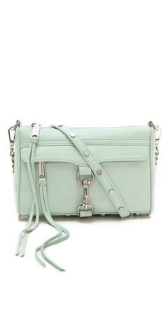 Mint Mini MAC Bag! Just bought this for spring !