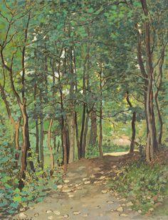 Ludovic Bassarab, Drum prin pădure