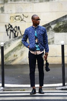 Statement jacket #menswear #streetstyle