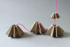 ludorn Origami Sternenhänger Lampe2