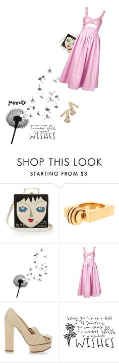 """""""a hundred wishes..."""" by sharmarie ❤ liked on Polyvore featuring Olympia Le-Tan, Chloé, Rosie Assoulin and Charlotte Olympia"""