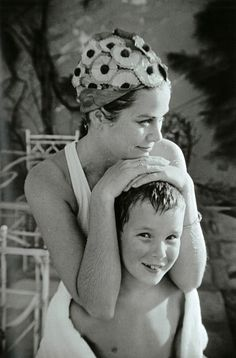 Princess Grace and son Albert
